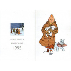 Tintin - Voeux 1995