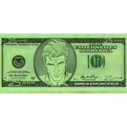 100 dollards - 25 ans - Largo Winch