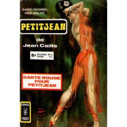Petitjean Recueil - (3178) - Carte rouge pour Petitjean