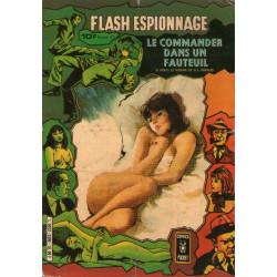 Flash espionnage - Recueil (3300) - Le commander dans un fauteuil