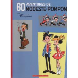60 ans Lombard - 60 aventures de Modeste et Pompon