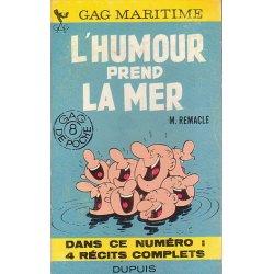 L'humour prend la mer (GDP 8) - 4 récits complets
