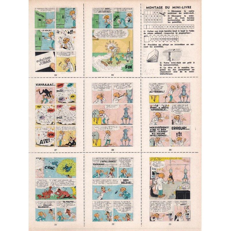 Mini-récits (462) - Jules II le robot - Une aventure de frères Clips