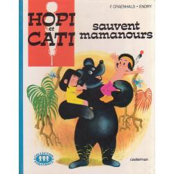 Hopi et Cati sauvent mamanours