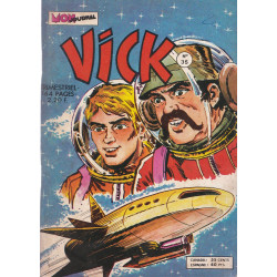 Vick (35) - Rock Vanguard - Les gardiens de la science