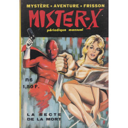 Mister-X (6) - La secte de la mort