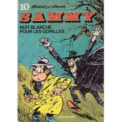 Sammy (10) - Nuit blanche pour les gorilles
