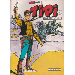 Tipi (51) - Kris le shérif - Wang le chinois