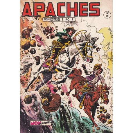 Apaches (42) - Rex Apache - Tu ne vivras pas vieux Sherif
