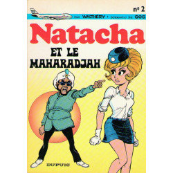 Natacha (2) - Natacha et le maharadjah