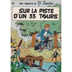 Gil Jourdan (15) - Sur la piste d'un 33 tours