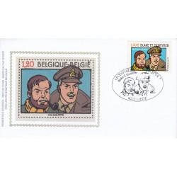 Blake et Mortimer (HS) - Le timbre en soie