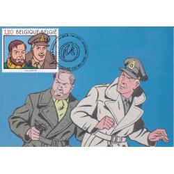 Blake et Mortimer (HS) - Carte 1e jour (2004)