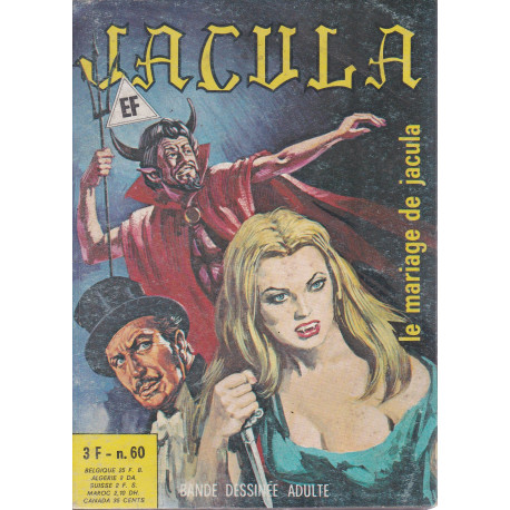Jacula (60) - Le mariage de Jacula