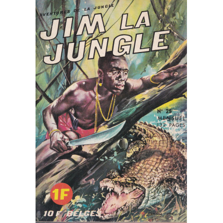 Jim la jungle (25) - Contrebande d'ivoire