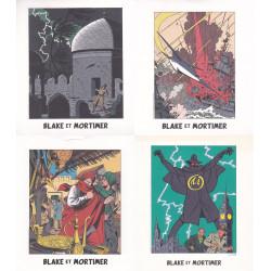 Blake et Mortimer (HS) - 4 images diverses