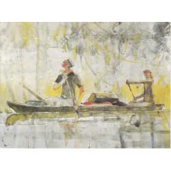 Corto Maltèse - canoe