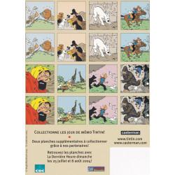 Tintin - jeux de mémo