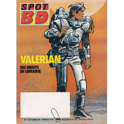 Spot BD (5) - Valérian des inédits en librairie