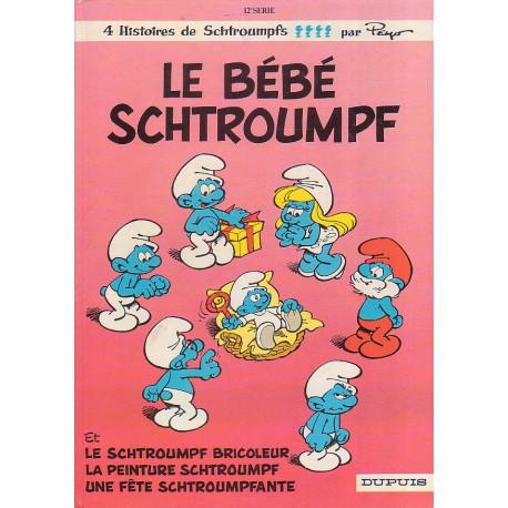 1-peyo-le-bebe-schtroumpf