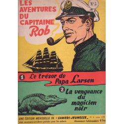 Samedi jeunesse (5) - Les aventures du capitaine Rob