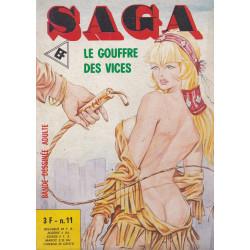 Saga (11) - Le gouffre des vices