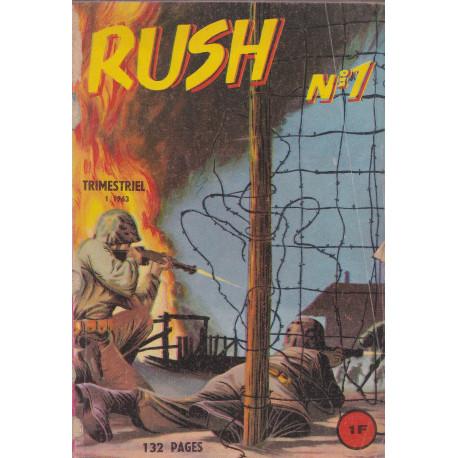 Rush (4) - Le commando du désert