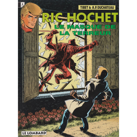 Ric Hochet (54) - Le masque de la terreur