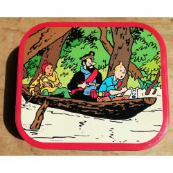 Tintin (Boite Delacre) - Le temple du soleil