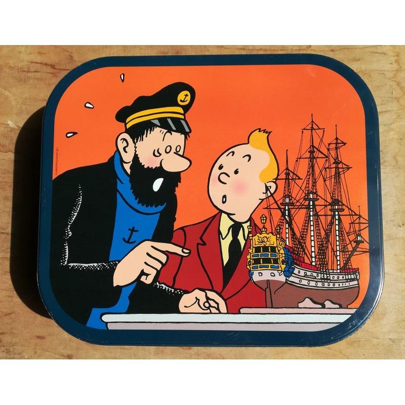 Tintin (Boite Delacre) - Tintin au champs