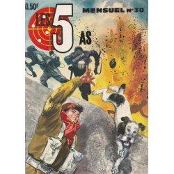 Les 5 as (37) - Le déserteur