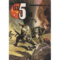 Les 5 as (63) - Le tigre de Birmanie