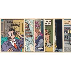 Floc'h et Rivière - (6 cartes postales)