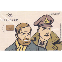 Blake et Mortimer (HS) - Carte téléphone Belgacom