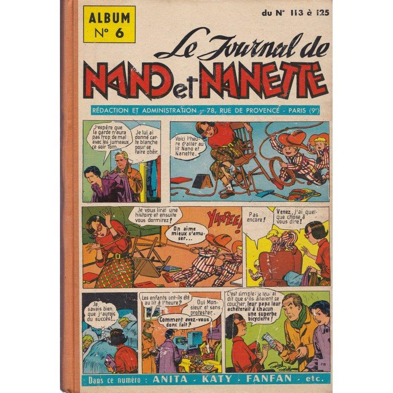 Le journal de Nano et Nanette (6) - (113 à 125)