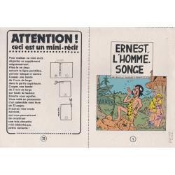 Mini-récits (13) - Ernest l'homme singe