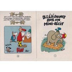 Mini-récits (4) - Des éléphants pour un mini-récit