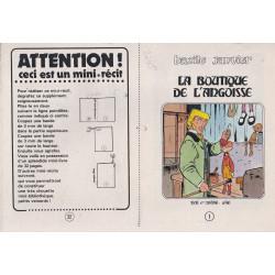 Mini-récits (7) - Bazile Janvier - La boutique de l'angoisse