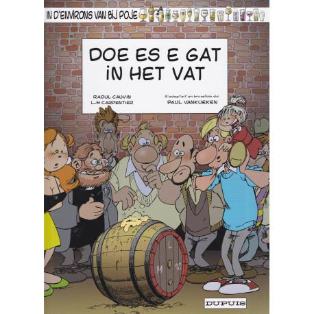 Poje en patois Bruxellois (15) - Doe es e gat in het vat