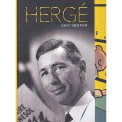 Tintin (HS) - Hergé l'exposition de papier