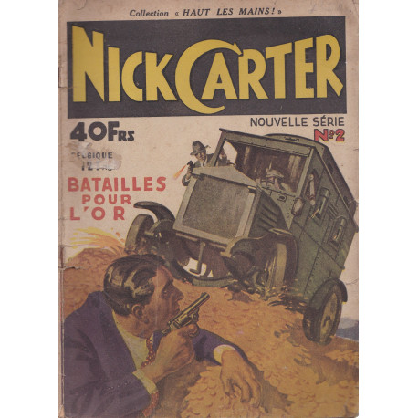 Nick Carter (2) - Bataille pour l'or