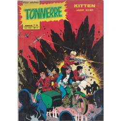 Tonnerre (7) - Dynamo - Kitten agent secret