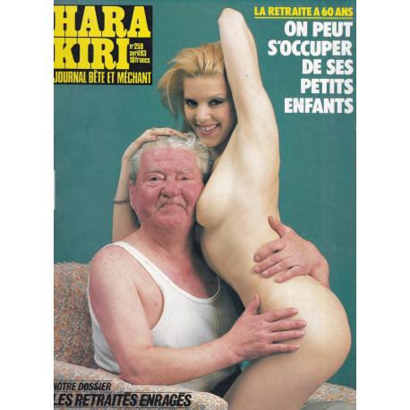 Hara Kiri (259) - Les retraités enragés