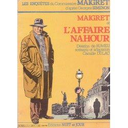 Les enquêtes du commissaire Maigret (1) - Maigret et l'affaire Nahour