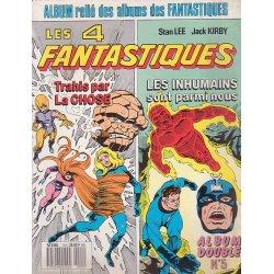 Les 4 fantastiques (5) - Trahis par la chose - Les inhumains sont parmis nous
