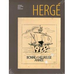 Catalogue de vente Hergé à Namur