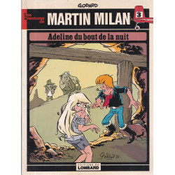 Martin Milan (3) - Adeline du bout de la nuit