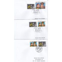Blake et Mortimer (2004) - Lot de 3 enveloppes