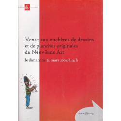 Catalogue de vente (2004)