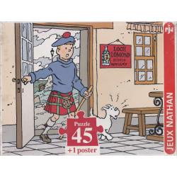 Puzzle - Tintin - L'île noire